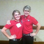 Meet 2012 Senior BA, Katie Stroud and Junior BA, Annie Belden