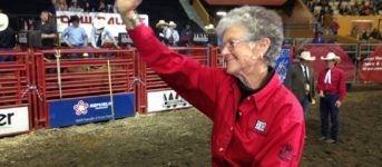 Melanie Fowle, Past CCW and ANCW President Honored at 2016 Cow Palace Rodeo