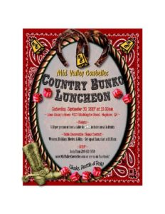 Mid Valley Country Bunko Luncheon @ Hughson | California | United States