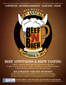 Tehama Co Cattlewomen - Red Bluff Beef N Brew @ Red Bluff | California | United States