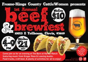 Fresno Kings Beef and Brewfest @ The Barn at Harlan Ranch | Clovis | California | United States