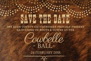 KCCW - Cowbelle Ball, and Evening of Boots and Gowns